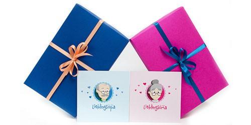 Berühmt Geschenke für Oma | Geschenke von MyOma @RI_81