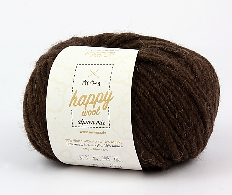 taupe (Fb 59) Happy Wool alpaca mix