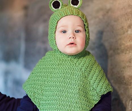 Froschkönig Babyponcho Froschkönig von MyOma