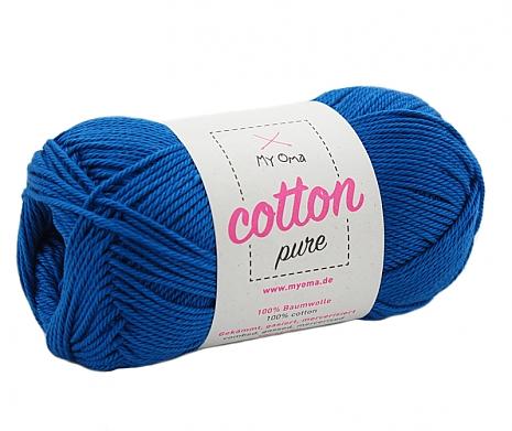 Königsblau (Fb 0127) Cotton pure MyOma