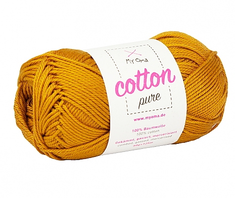 Gold (Fb 0190) Cotton pure MyOma