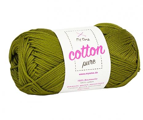 Olive (Fb 0136) Cotton pure MyOma