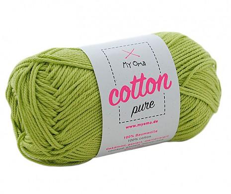 Limette (Fb 0134) Cotton pure MyOma