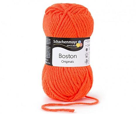 neon orange (Fb 122) Boston Wolle Schachenmayr