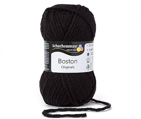 schwarz (Fb 99) Boston Wolle Schachenmayr