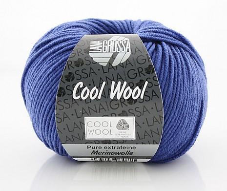 brillantblau (Fb 548) Lana Grossa Cool Wool
