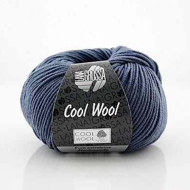 jeansblau (Fb 557) Lana Grossa Cool Wool