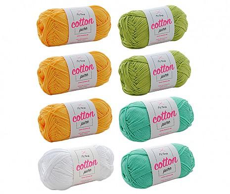 Cotton pure Wollmix Löwenzahn