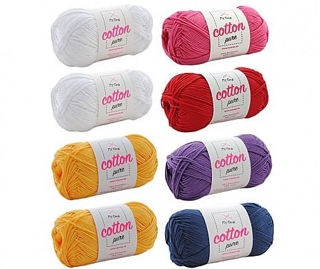 Cotton pure Wollmix Primel