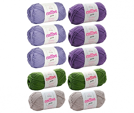 Cotton pure Wollmix Provence