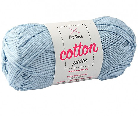 Himmelblau (Fb 0081) Cotton pure MyOma