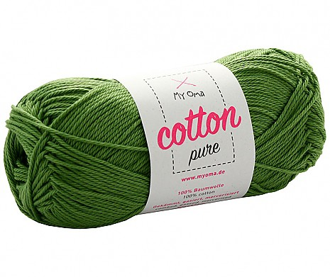Moosgrün (Fb 094162) Cotton pure MyOma