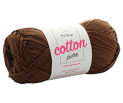 Nougat (Fb 0220) Cotton pure MyOma