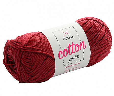 Rubinrot (Fb 0020) Cotton pure MyOma