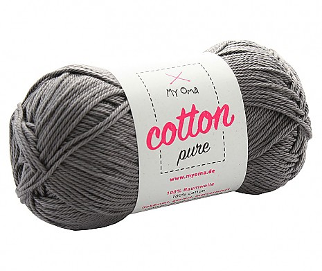 Schiefer (Fb 0235) Cotton pure MyOma