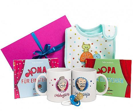 Geschenkbox Hallo Oma und Opa!