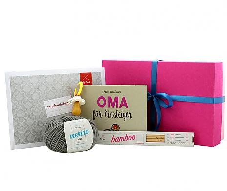 Geschenkbox Hallo Oma! klein