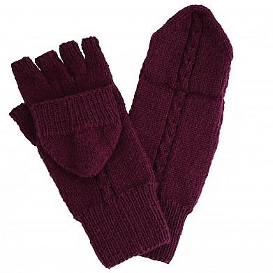 Zopfmuster Handschuhe Oma Betti