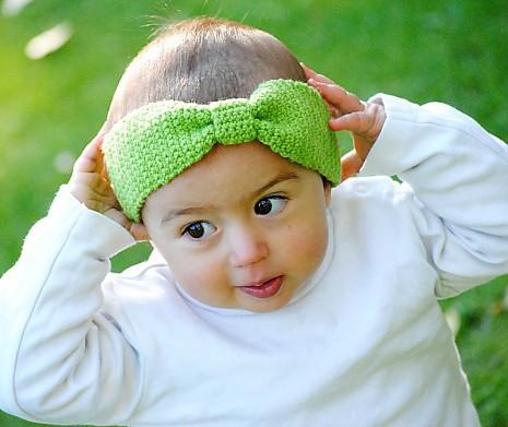 DIY Kinderstirnband Schleifchen
