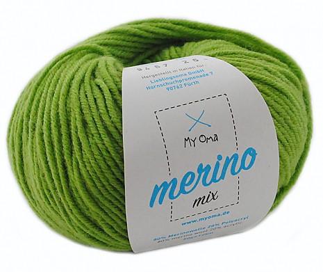 Apfelgrün (Fb 9467) Merino Mix MyOma