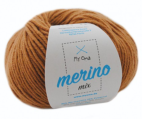 Haselnuss (Fb 7368) Merino Mix MyOma