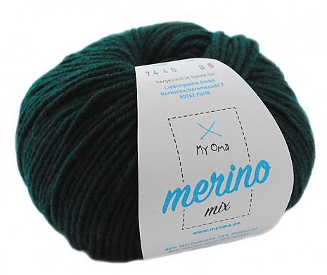 Jägergrün (Fb 7440) Merino Mix MyOma