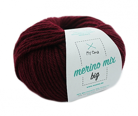 Kaminrot (Fb 3004) Merino Mix big MyOma