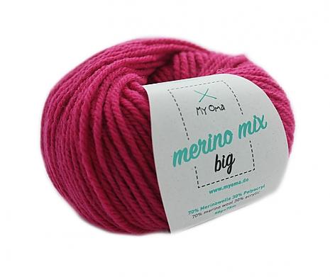 Magenta (Fb 3034) Merino Mix big MyOma