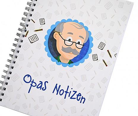 Opas Notizbuch