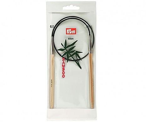 Rundstricknadeln Bambus 6,0mm/60cm