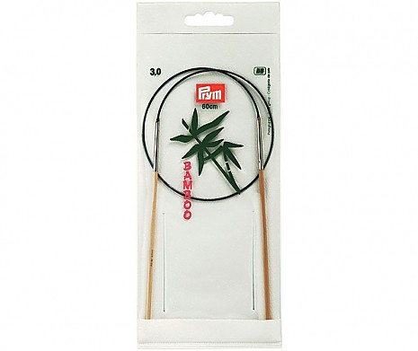 Rundstricknadeln Bambus 3,0mm/60cm