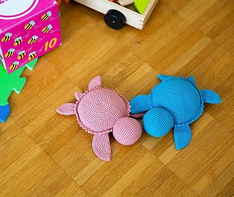 Häkelanleitung Schildkröten