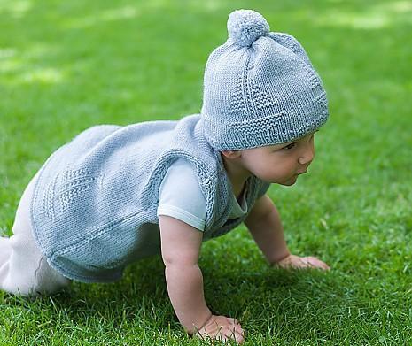 premium selection 63d60 8c96d Babysachen Set Weste & Mütze Schiffchen Oma Heike von MyOma