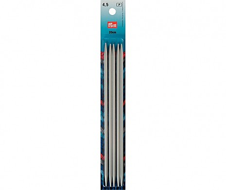 Nadelspiel Aluminium Prym 4,5mm