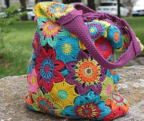 DIY Bunte Blütentasche