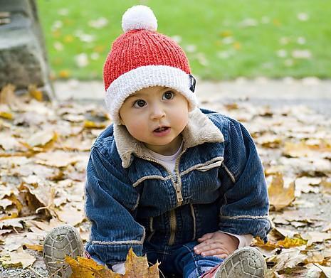 Babymütze Weihnachtszeit