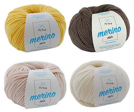 Merino Mix Wollmix Giraffe S