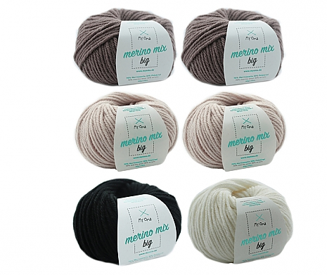 Merino Mix big Wollmix Alpaka