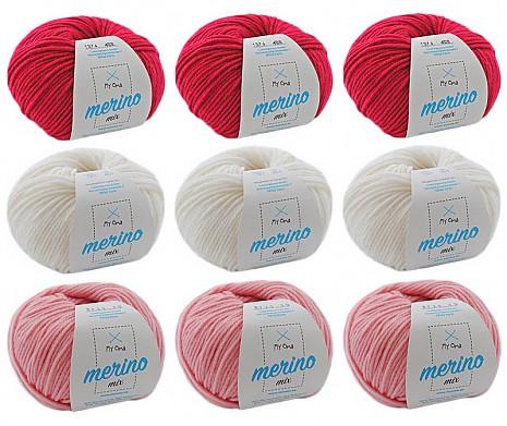 Merino Mix Wollmix Alpenveilchen XL