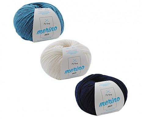 Merino Mix Wollmix Atlantik S