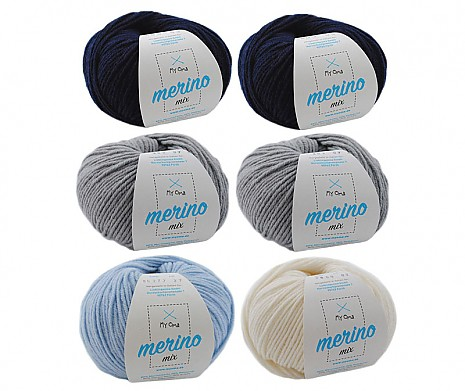 Merino Mix Wollmix Winterzauber L