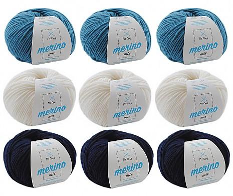 Merino Mix Wollmix Atlantik XL