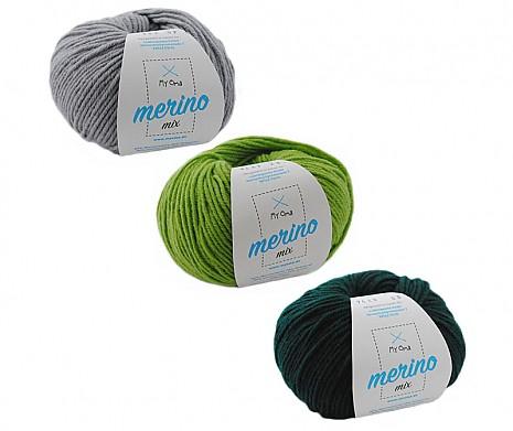 Merino Mix Wollmix Berg und Tal S
