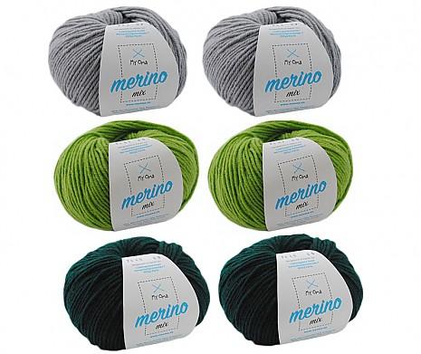 Merino Mix Wollmix Berg und Tal L