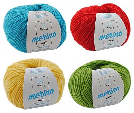 Merino Mix Wollmix Chamäleon S