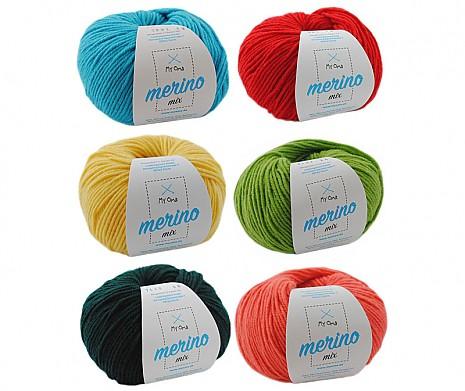 Merino Mix Wollmix Chamäleon L