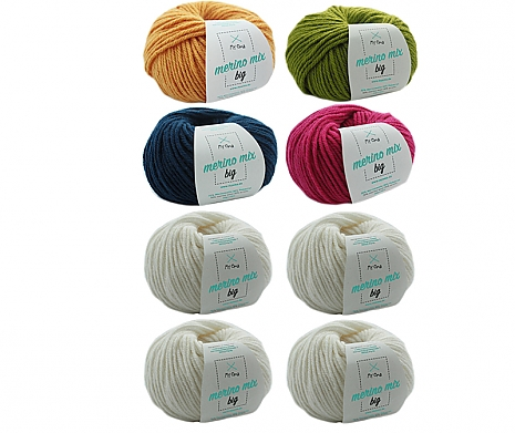 Merino Mix big Wollmix Einhorn