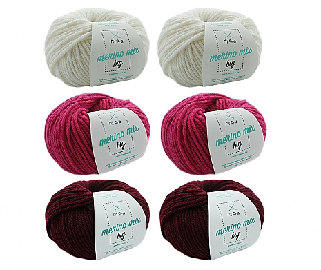 Merino Mix big Wollmix Mrs. Claus