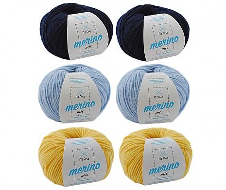 Merino Mix Wollmix Kleiner Prinz L