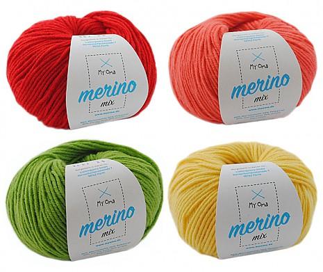 Merino Mix Wollmix Mango S